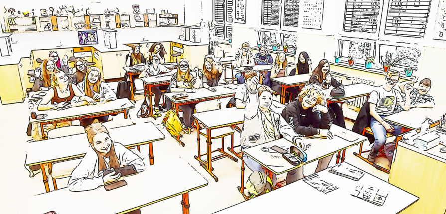 8.B foto třídy