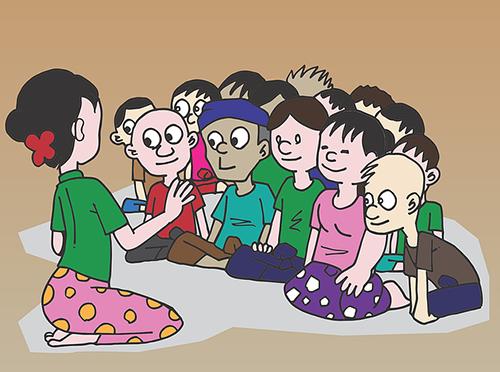 Žáci a učitelé