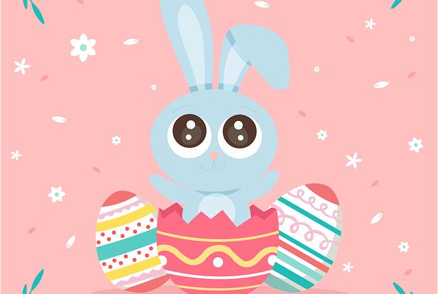 Velikonoce - zajíc a vejce